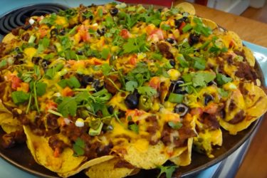 Nachos Supreme for a Super Bowl-Sized Hunger, photo by Hispanic Kitchen