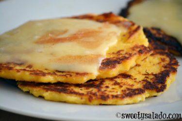 Arepas de Choclo (Sweet Corn Arepas)