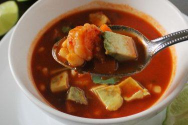 Caldo de Camarón (Mexican Shrimp Soup)