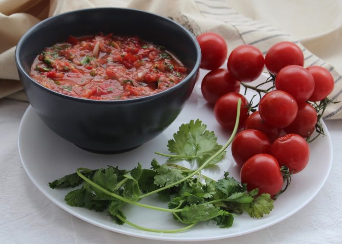 Roasted Tomato Salsa, photo by Jennifer Rice