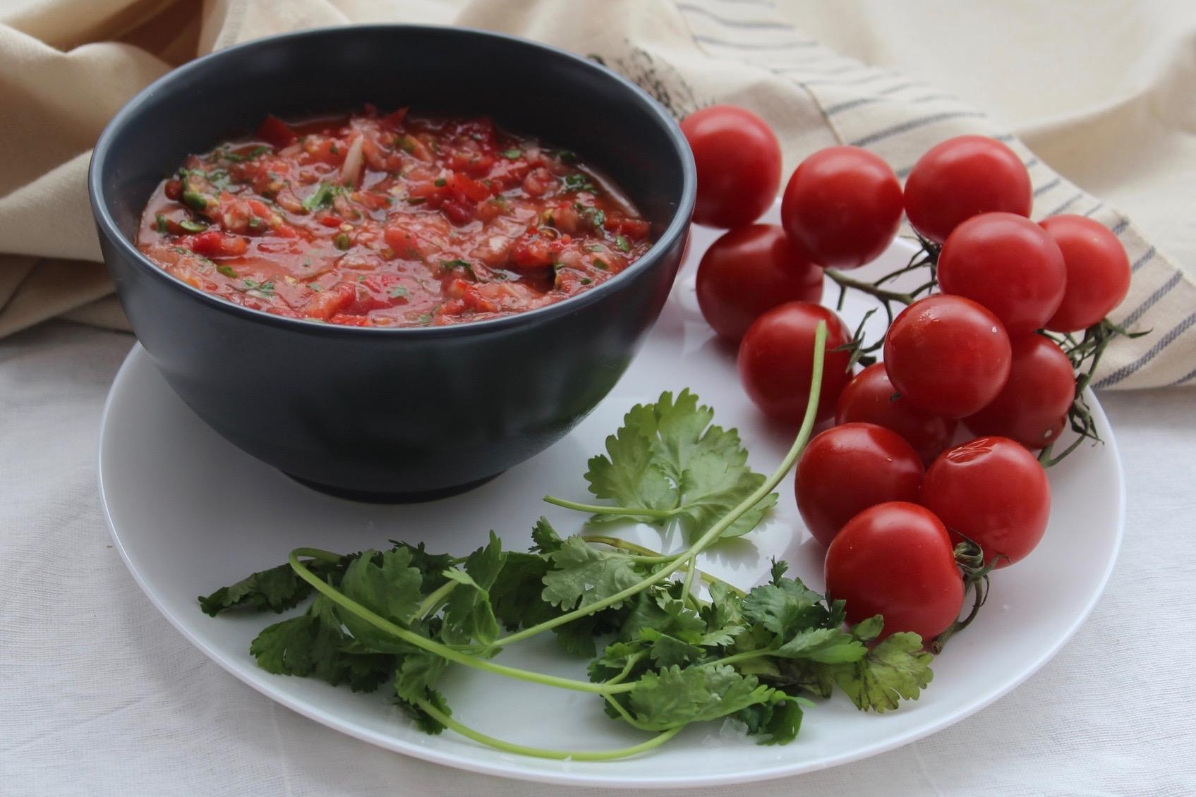 Warm Tomato Salsa
