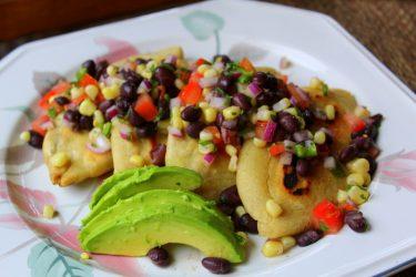 Tlacoyos de Frijol (Black Bean Masa Cakes), photo by Sonia Mendez Garcia