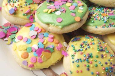 Galletas de Azúcar de Primavera (Spring Sugar Cookies)