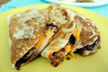 Classic Breakfast Chicken Quesadilla, photo by Fernanda Alvarez