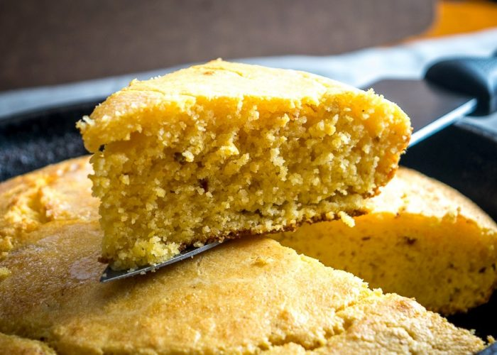 Sweet Chipotle Skillet Cornbread, photo by Mexican Please