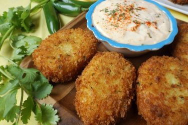 Ham Croquettes with Cheese and Jalapeño