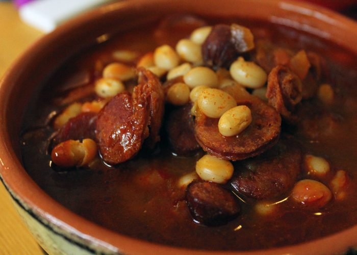 Fabada Asturiana (Pork and Bean Soup), photo by Fernanda Alvarez