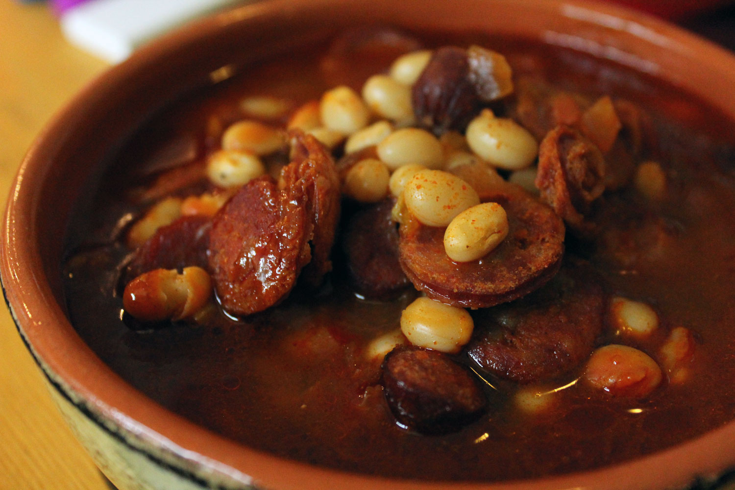 Fabada Asturiana (Cuban Pork and Bean Soup)