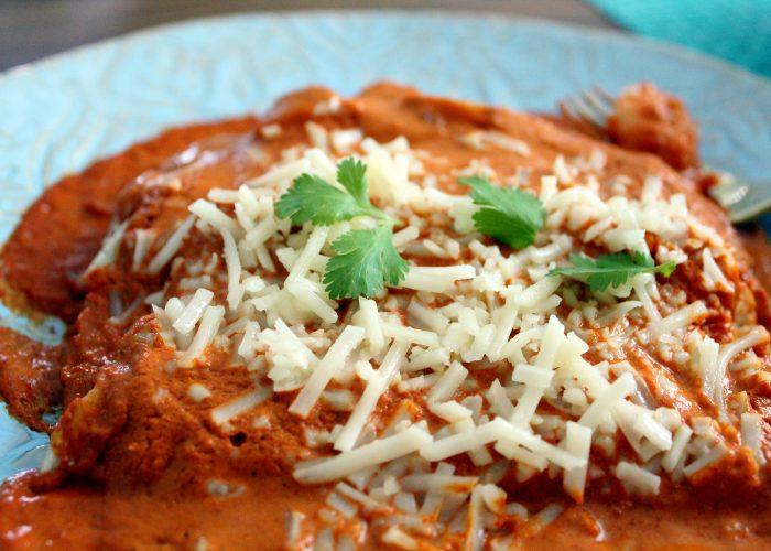 15-Minute Shrimp Enchiladas With Chipotle Sauce, photo by Fernanda Alvarez