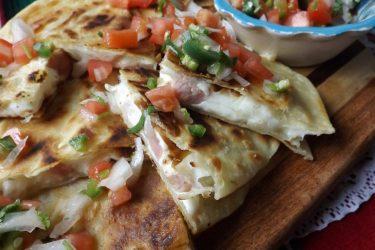 Sincronizadas de Jamón (Ham Quesadillas), photo by Sonia Mendez Garcia