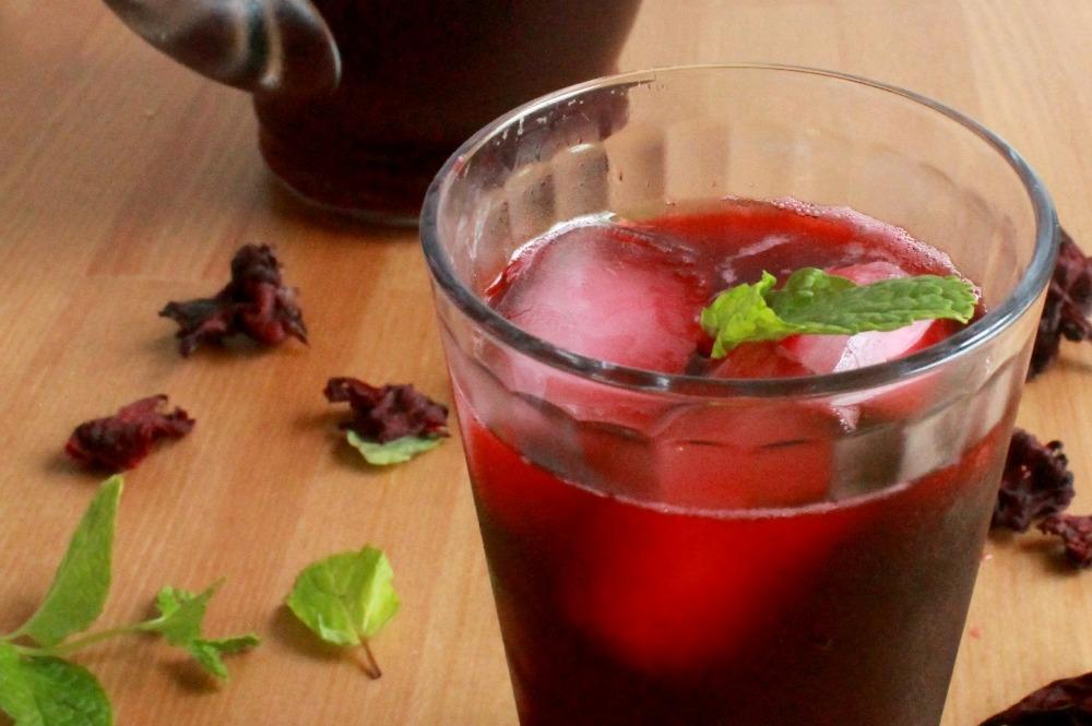 Agua de Jamaica (Hibiscus Tea) - Hispanic Kitchen : Hispanic Kitchen