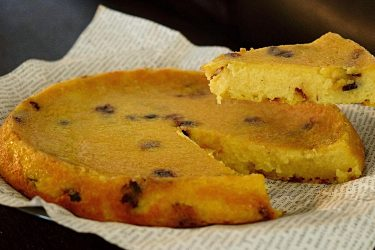 Arepa Dominicana (Dominican Cornmeal Cake), photo by Suellen Pineda, RDN, CDN