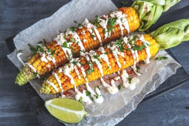 Grilled Elote, photo by Hispanic Kitchen