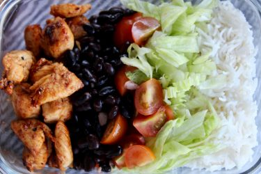Naked Burrito Bowl, photo by Jennifer Rice