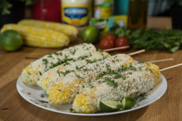 Mexican-Style Elotes