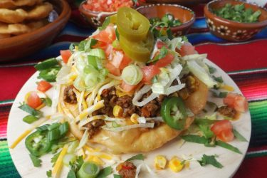 Navajo Tacos (Easy Fry Bread Recipe)