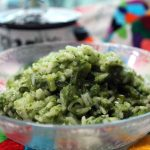 Creamy Poblano & Cheese Rice