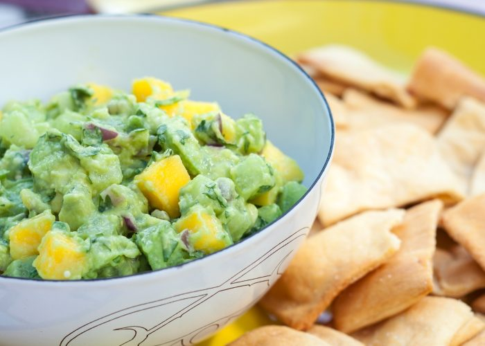 Mango-Tomatillo Guacamole, photo by Hispanic Kitchen