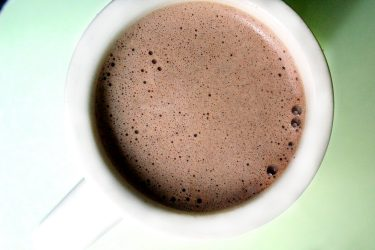Atole de café, photo by Fernanda Alvarez