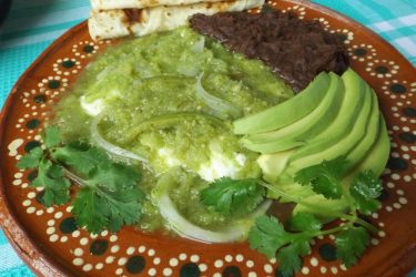 Queso con Chile en Salsa Verde, photo by Sonia Mendez Garcia
