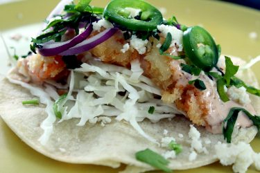 Baja California-Style Shrimp Tacos