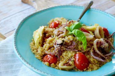 Quinoa and Calamari Salad