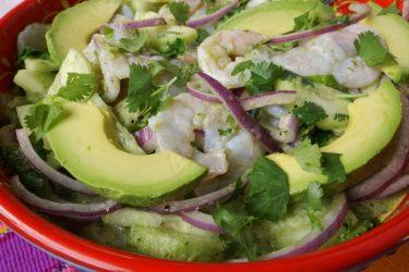 Camarones en Aguachile (Chile Water Shrimp), photo by Sonia Mendez Garcia