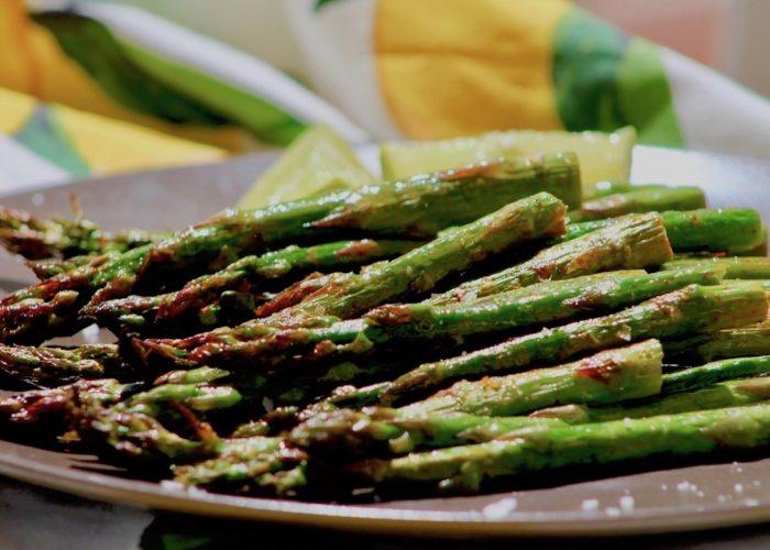 Lime Paprika Grilled Asparagus, photo by Jennifer Rice