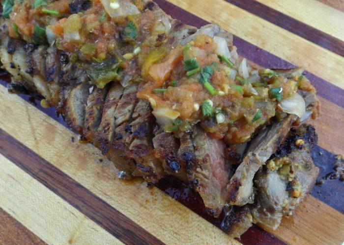 Carne Asada Brava With Roasted Salsa, photo by Sonia Mendez Garcia