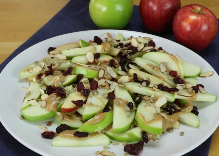 Apple Nachos, photo by Hispanic Kitchen