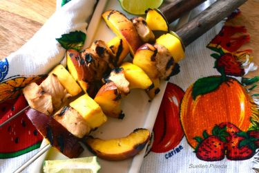 Chicken and Mango Kabobs