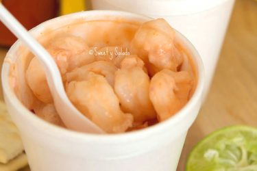 Colombian Shrimp Cocktail, photo by Sweet y Salado