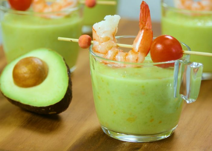 Avocado Gazpacho, photo by Hispanic Kitchen