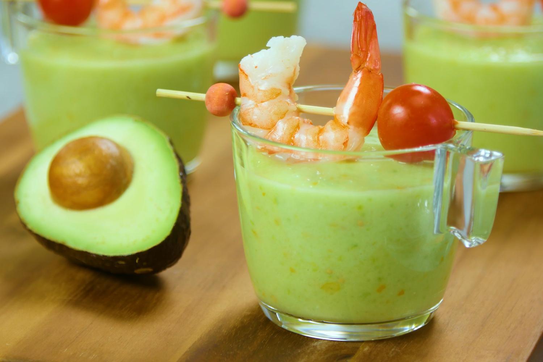 Avocado Gazpacho
