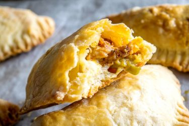 Spicy Chicken and Pickled Jalapeño Empanadas, photo by Mexican Please