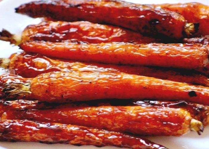 Amazingly Good Roasted Honey Chili Carrots, photo by Jennifer Rice