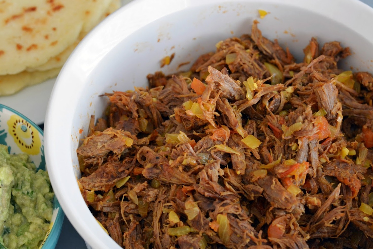 Carne Desmechada (Colombian Shredded Beef)