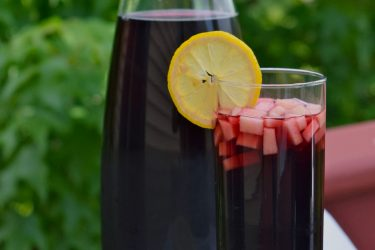 Chicha Morada (Peruvian Purple Corn Drink), photo by Suellen Pineda, RDN, CDN