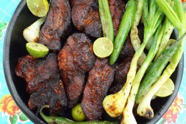 Costillas Adobadas Asadas (Grilled Pork Ribs)