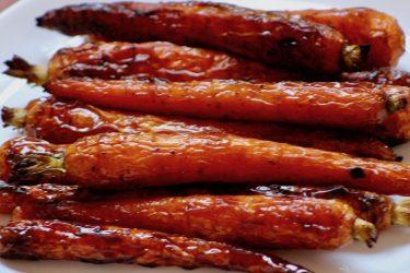 Amazingly Good Roasted Honey Chili Carrots