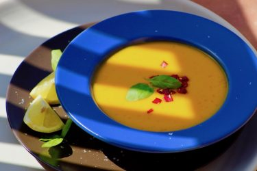 Mouth Watering Mango Gazpacho