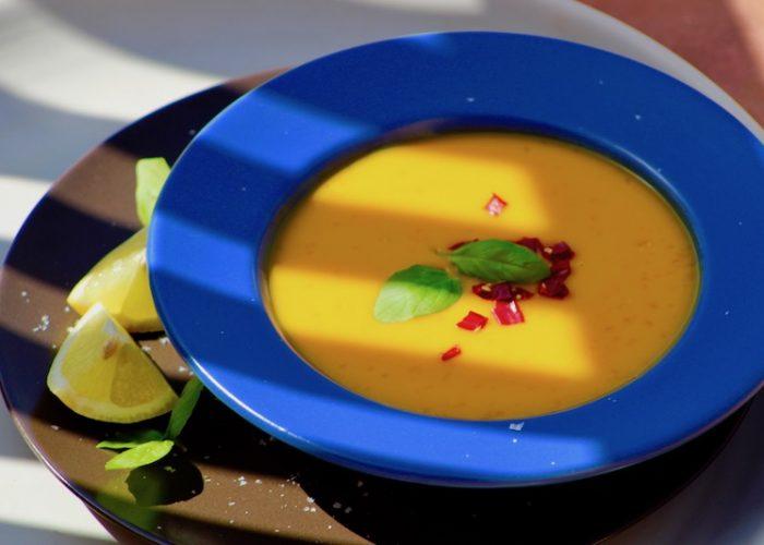 Mouthwatering Mango Gazpacho, photo by Jennifer Rice