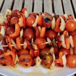 Sweet And Juicy BBQ Cherry Tomato Skewers