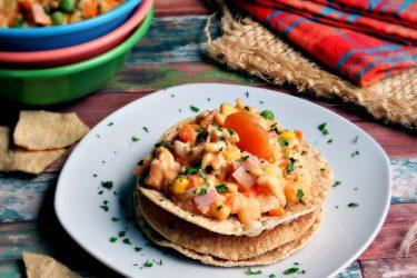 Ensalada de Coditos (Mexican Pasta Salad)