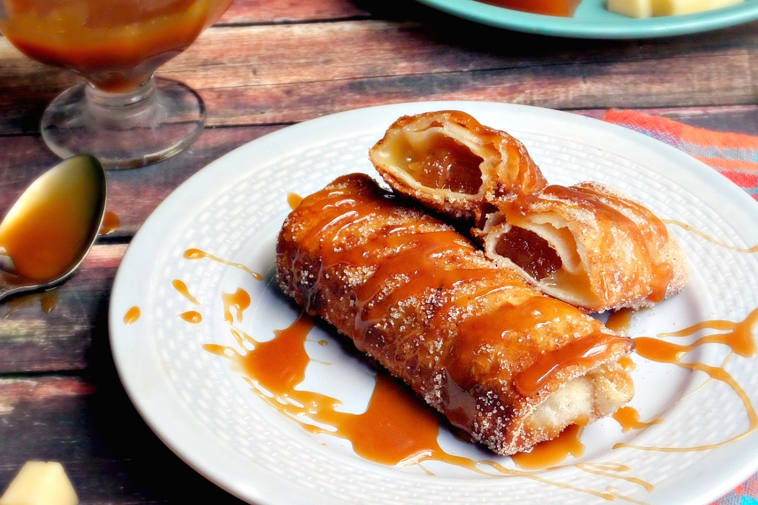 Quince Paste and Manchego Cheese Dessert Chimichangas