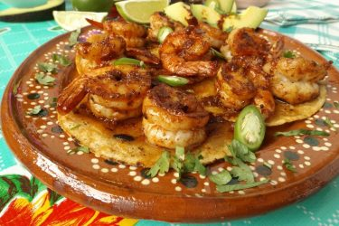Camarones Enchilados (Spicy Chile Shrimp)