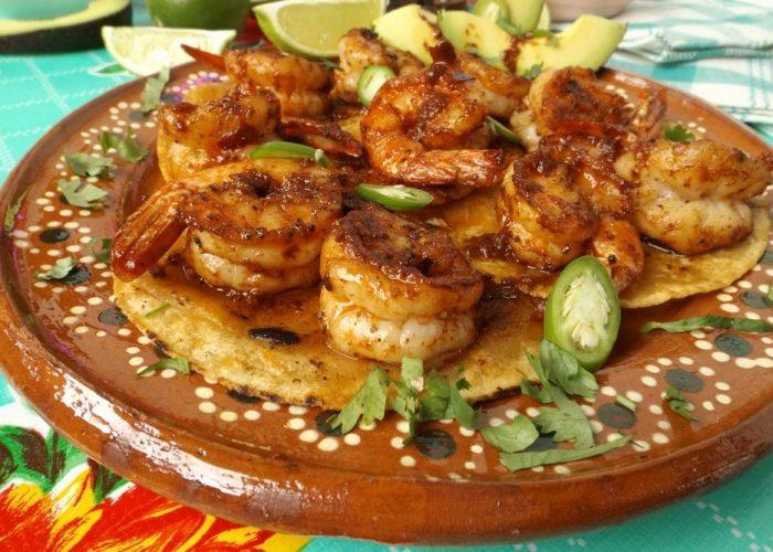 Camarones Enchilados (Spicy Chile Shrimp), photo by Sonia Mendez Garcia
