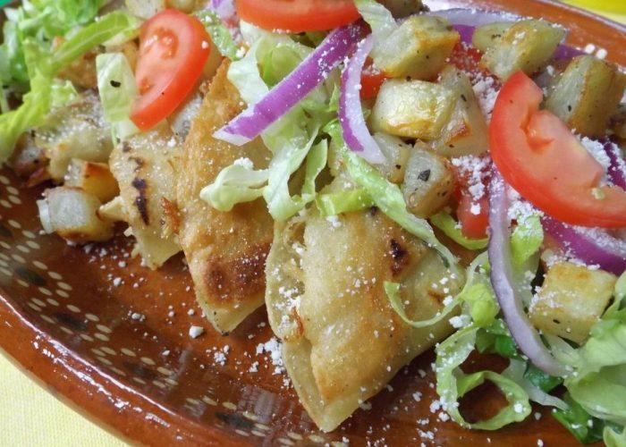 Tacos Dorados de Pollo (Crispy Chicken Tacos), photo by Sonia Mendez Garcia