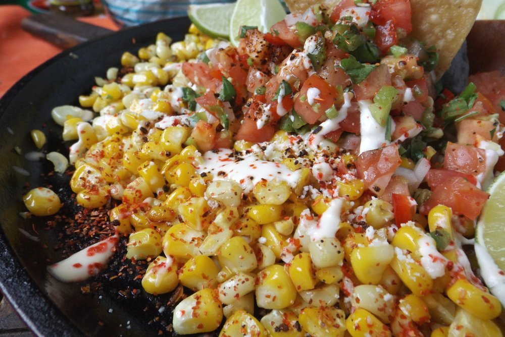 Esquites Tostados(Mexican Toasted Corn)