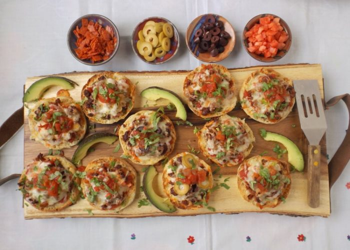 Place back into oven and bake for 7-8 minutes or until cheese melts. To brown cheese a little more, place under the broiler for less than 1 minute or until cheese begins to brown. Garnish with remaining salsa, cilantro and avocado.